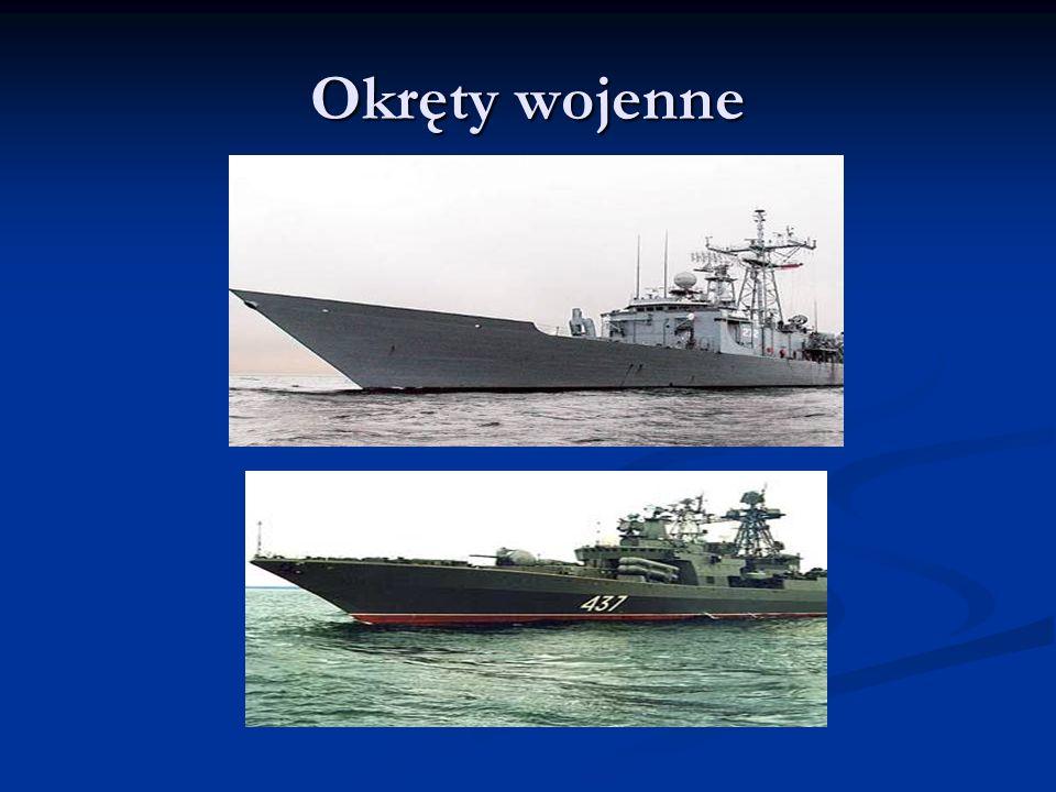 Łodzie podwodne Okręt podwodny – klasa okrętów przystosowanych do pływania pod wodą (potoczne, błędnie używane, określenie łódź podwodna jest rusycyzmem od podwodnaja łodka).