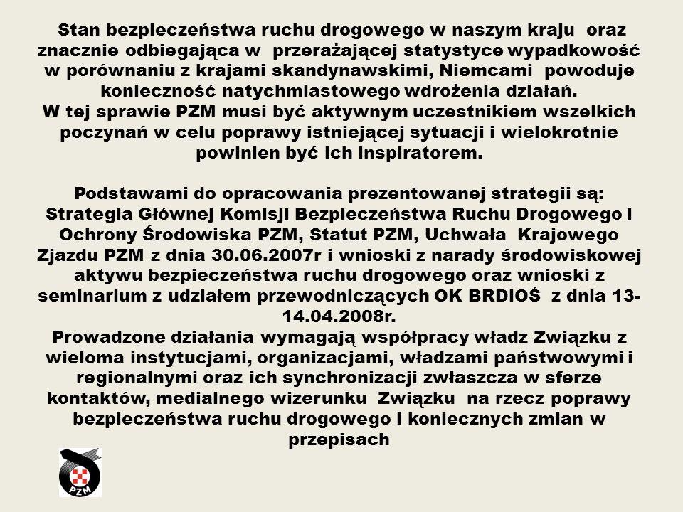 Tak zwana ofiarochłonność wypadków drogowych w Polsce jest kilkakrotnie wyższa niż w większości krajach Unii Europejskiej
