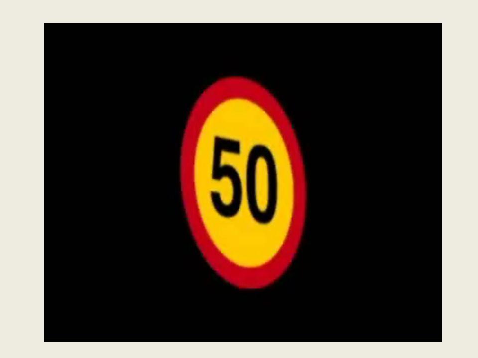PZM propaguje bezpieczną jazdę np. ograniczenie prędkości na terenie obszaru zabudowanego do 50km/h