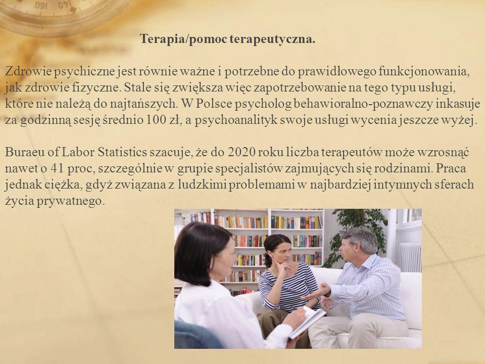 Terapia/pomoc terapeutyczna. Zdrowie psychiczne jest równie ważne i potrzebne do prawidłowego funkcjonowania, jak zdrowie fizyczne. Stale się zwiększa