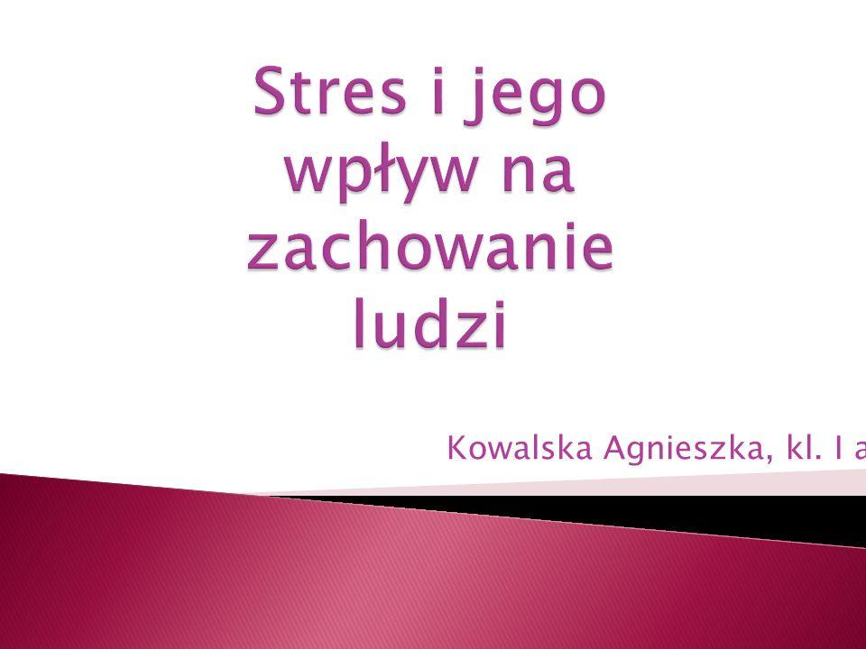 Kowalska Agnieszka, kl. I a