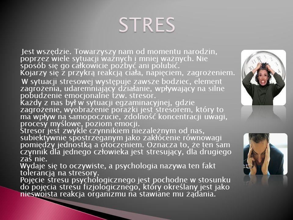 To, ze w obecnych czasach Polacy są w tak złej kondycji zdrowotnej nie jest konsekwencja tylko złego sposobu odżywiania się czy braku aktywności ruchowej, ale w większości przypadków jest to rezultat przewlekle kumulowanego (gromadzonego) stresu.
