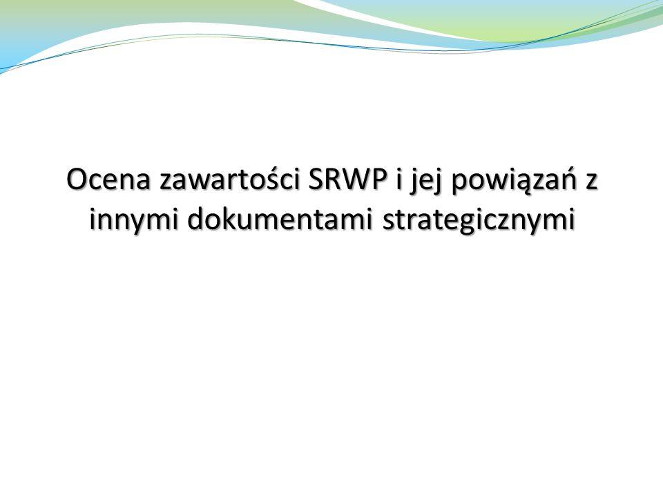 Oddziaływania transgraniczne Jednym z kryteriów badawczych była ocena czy zapisy i wytyczne SRWP mogą oddziaływać na środowisko poza granicami kraju.