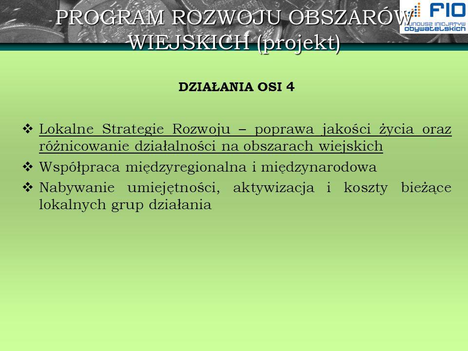 Regionalny Program Operacyjny - osie priorytetowe OŚ PRIORYTETOWA 2.