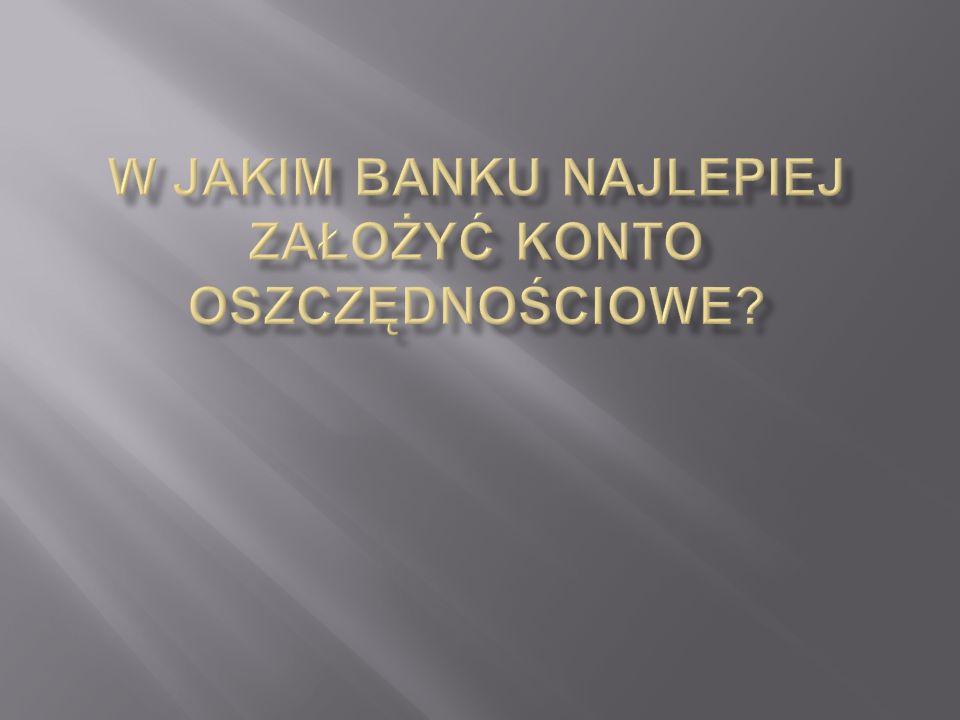 Nazwa bankuOdsetki po podatku Odsetki przed opodatkowaniem Oprocentowanie 1.MeritumBank 243 PLN 300 PLN 6 % 2.