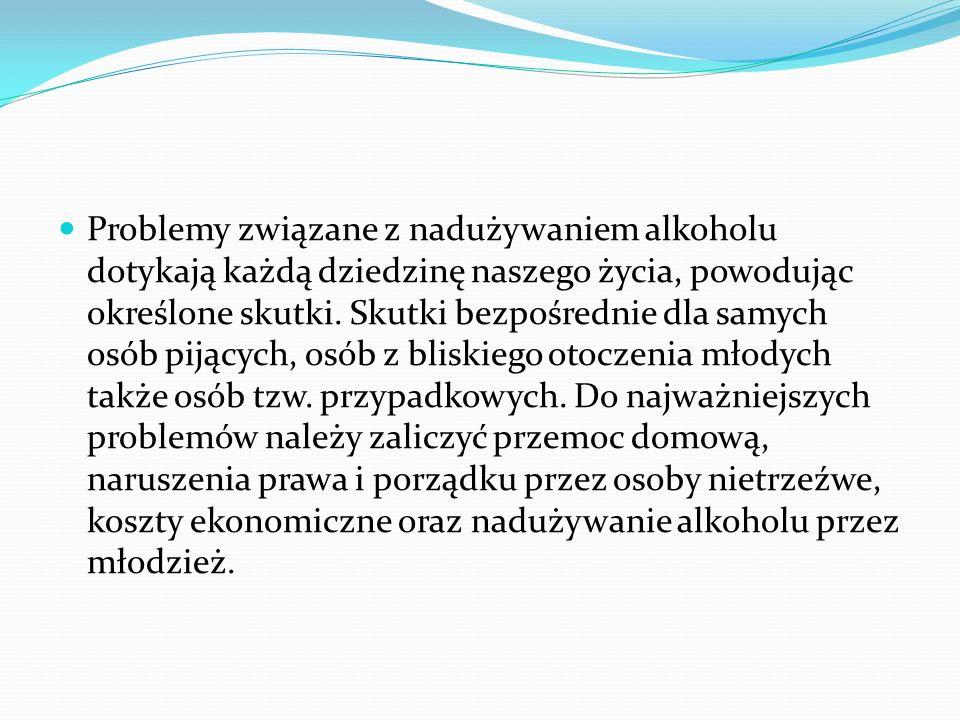Problemy związane z nadużywaniem alkoholu dotykają każdą dziedzinę naszego życia, powodując określone skutki.