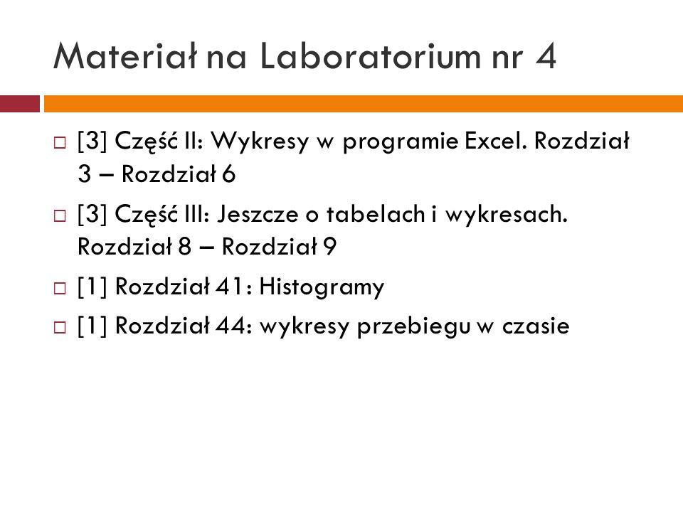 Materiał na Laboratorium nr 5 [1] Rozdział 42: Statystyka opisowa: średnia, mediana, Moda, skośność, kurtoza, wariancja, odchylenie standardowe, wyróżnianie wartości izolowanych średnia geometryczna