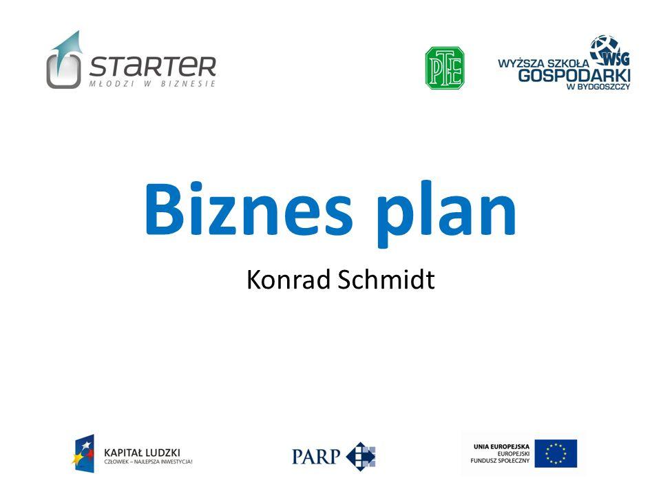 Biznes plan Konrad Schmidt
