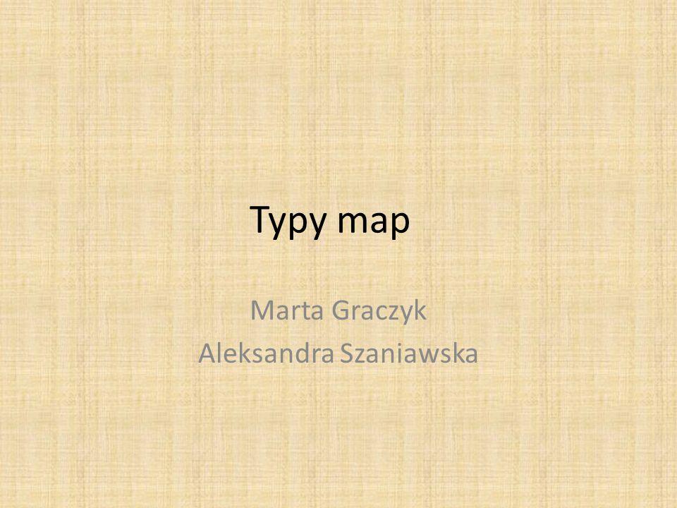 Typy map Marta Graczyk Aleksandra Szaniawska