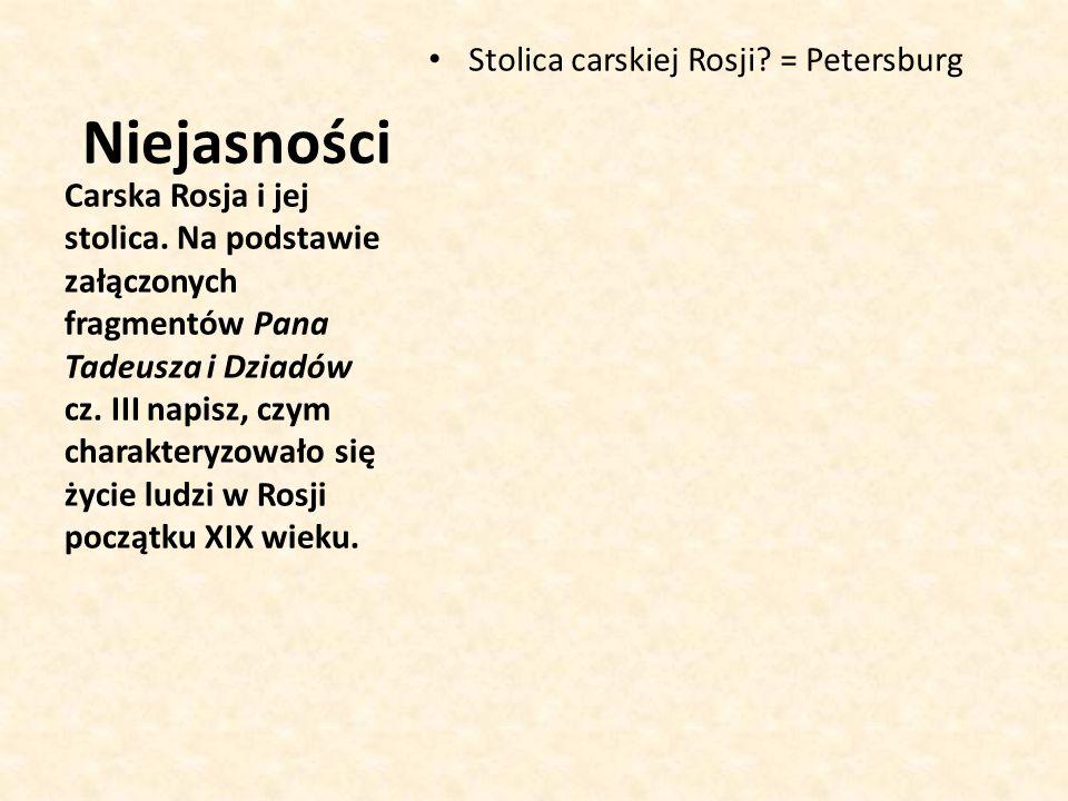 Stolica carskiej Rosji.= Petersburg Carska Rosja i jej stolica.