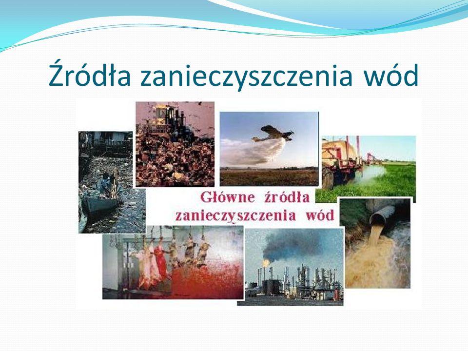 Źródła zanieczyszczenia wód