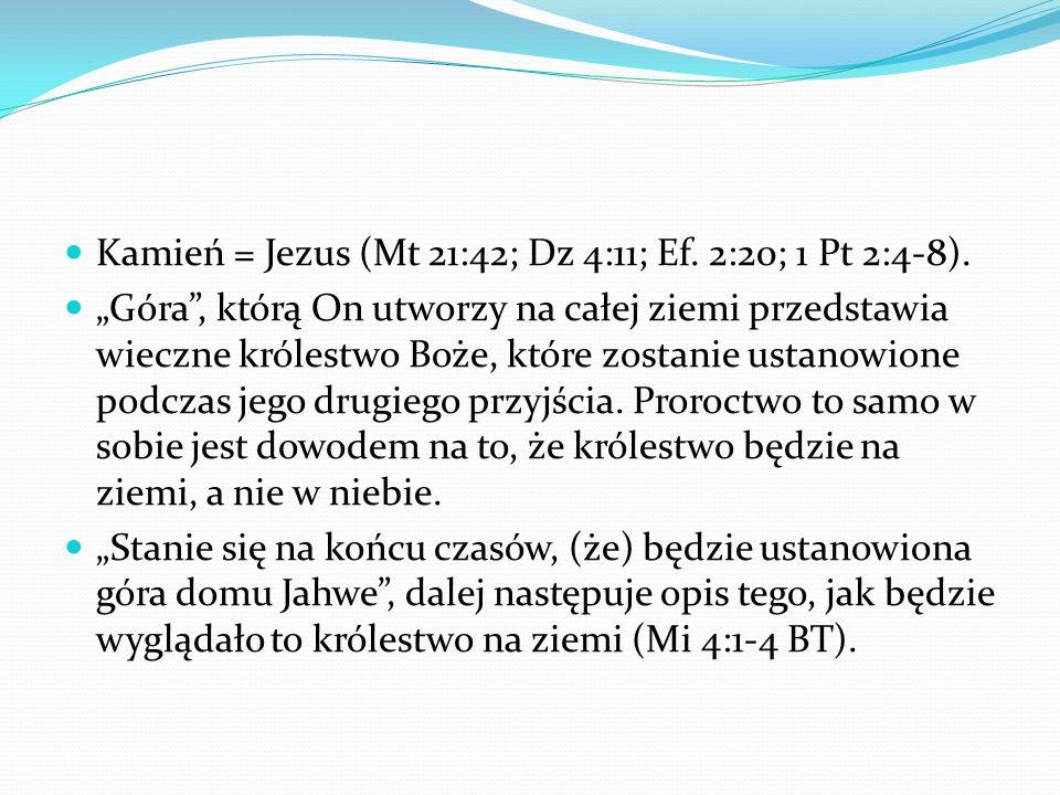 Dn 2:44 Dn 2:44 Bóg niebios stworzy królestwo, które na wieki nie będzie zniszczone, a królestwo to nie przejdzie na inny lud.