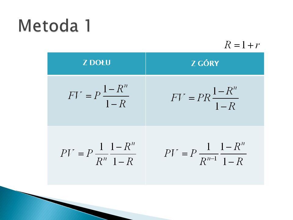 FV(stopa;liczba_rat;rata;wa;typ) Stopa to stopa procentowa dla okresu.