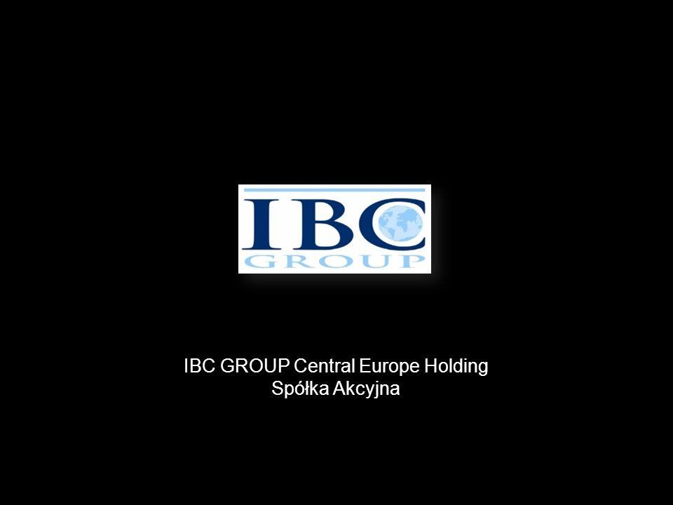 IBC GROUP Central Europe Holding Spółka Akcyjna