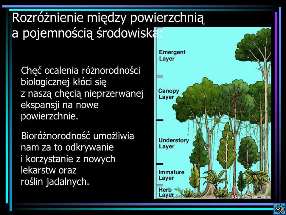 Chęć ocalenia różnorodności biologicznej kłóci się z naszą chęcią nieprzerwanej ekspansji na nowe powierzchnie. Bioróżnorodność umożliwia nam za to od