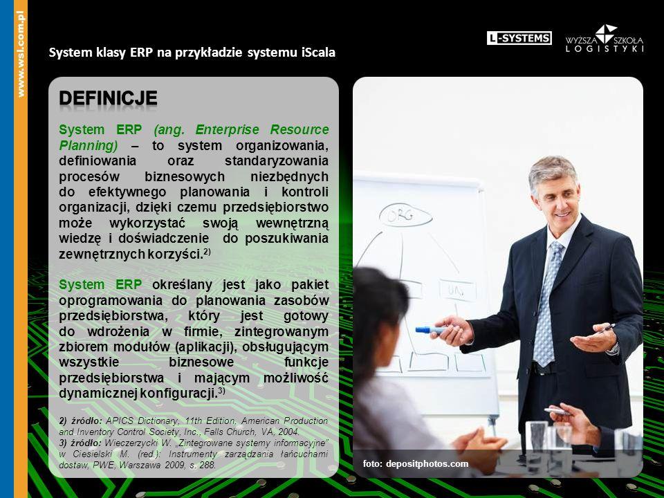 foto: depositphotos.com System klasy ERP na przykładzie systemu iScala