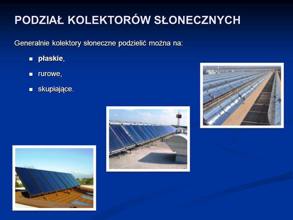BUDOWA KOLEKTORA SŁONECZNEGO Na dzień dzisiejszy we współcześnie budowanych instalacjach solarnych najczęstsze zastosowanie znajdują kolektory płaskie cieczowe.