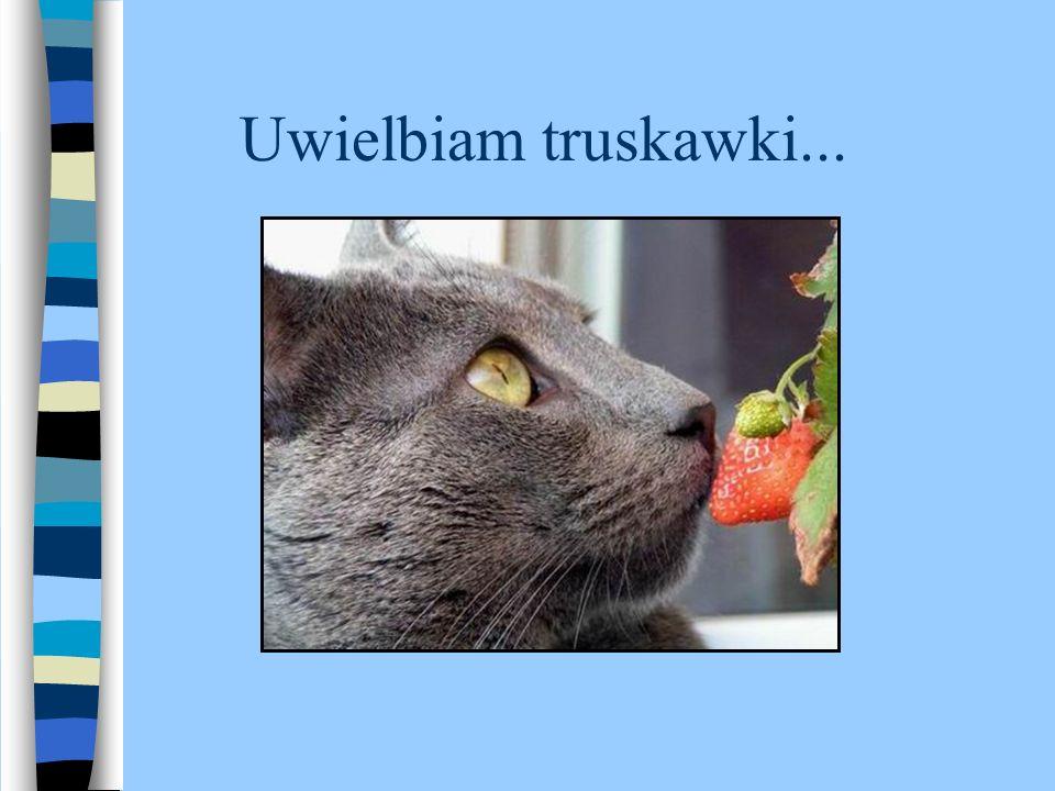 Uwielbiam truskawki...