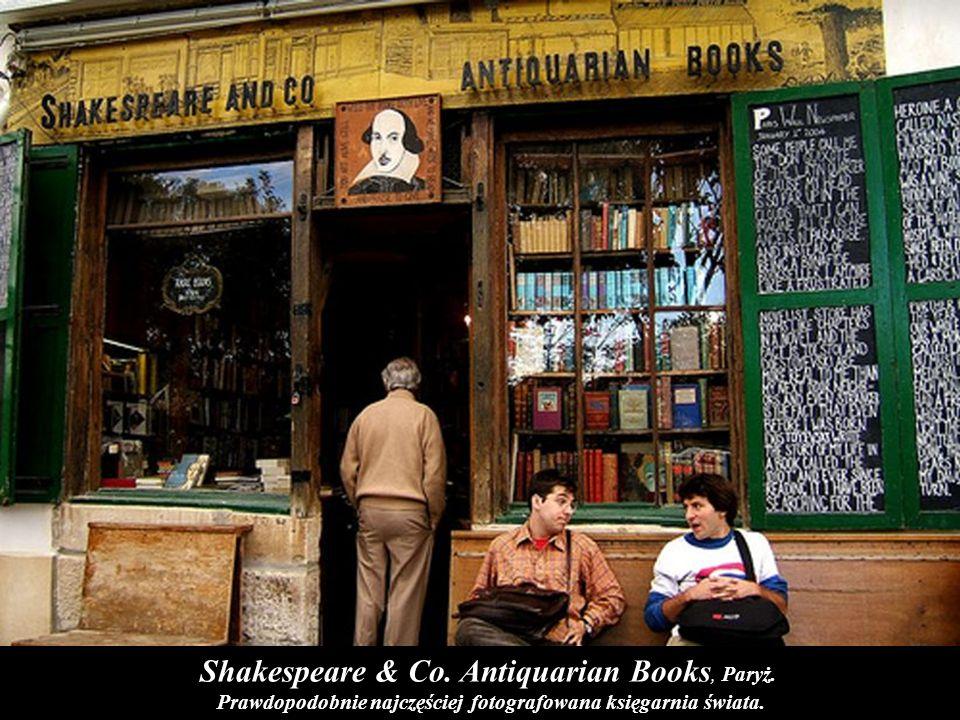 Borderlands Science Fiction Bookstore w San Francisco Borderlands Books w San Francisco to księgarnia specjalizująca się wyłącznie w tematyce science