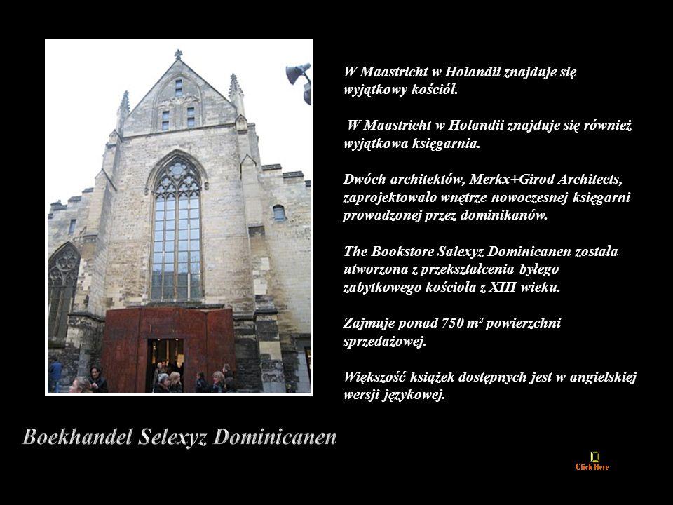 W Maastricht w Holandii znajduje się wyjątkowy kościół.