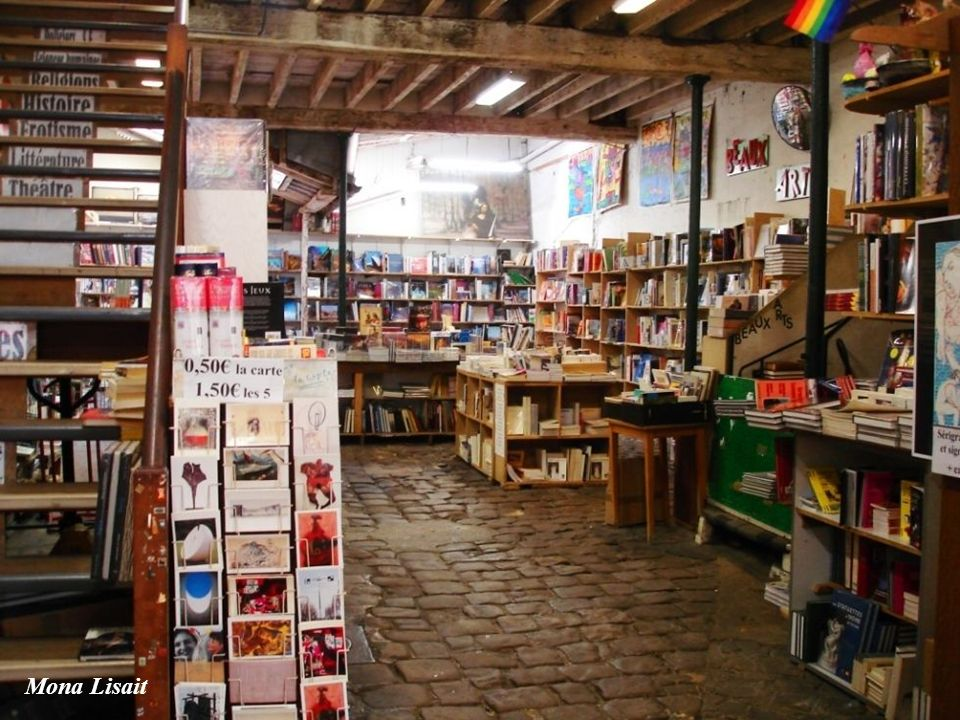 Księgarnia w Paryżu
