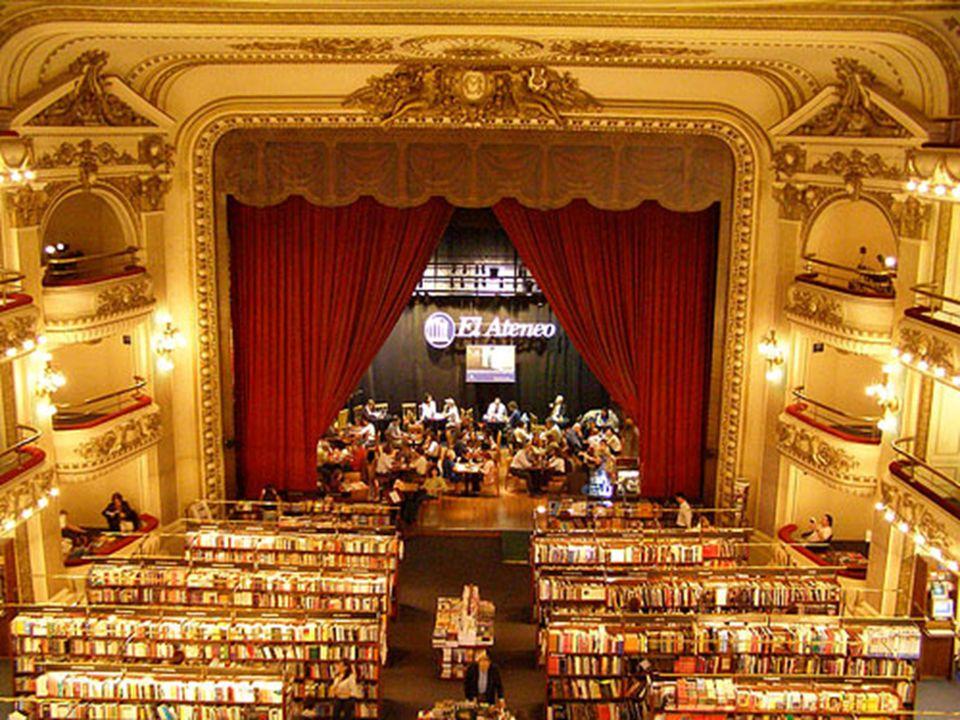 Księgarnia El Ateneo w Buenos Aires. Wcześniej był to budynek teatru i kina.