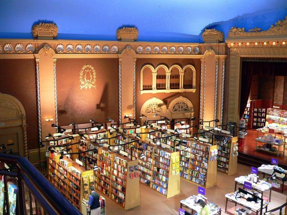 Księgarnia El Ateneo w Buenos Aires - Argentyna.