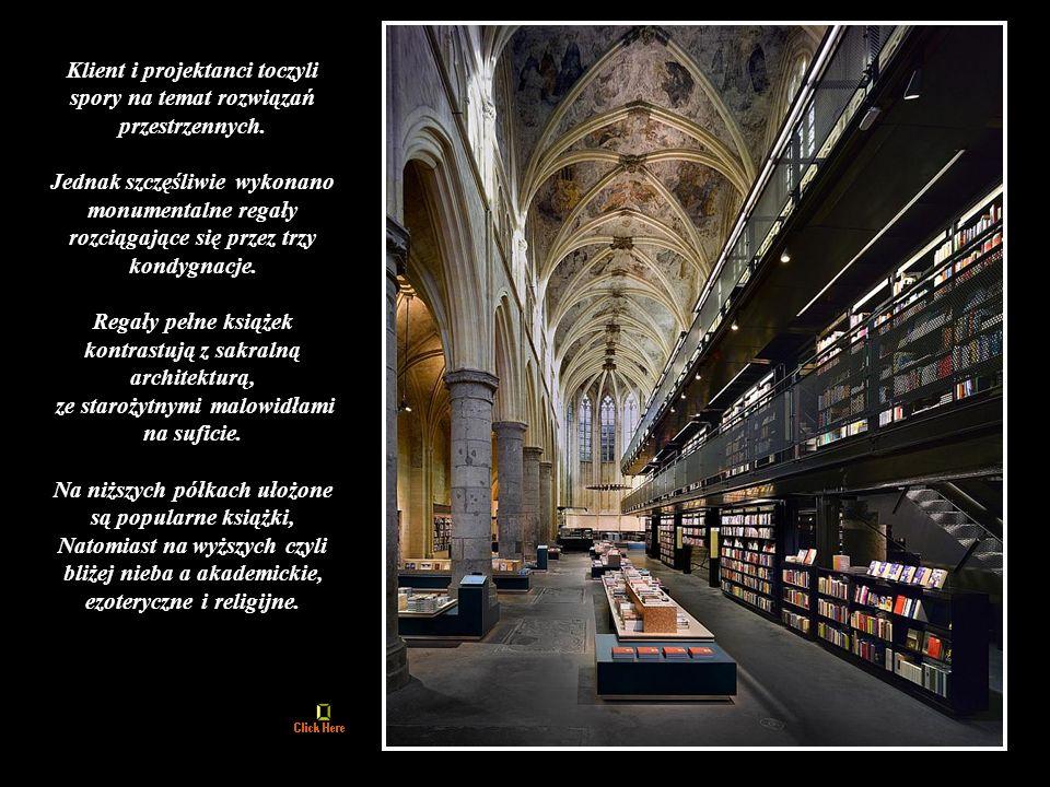 Księgarnia Selexyz w Maastricht w Holandii otwarta została w 2007 roku.