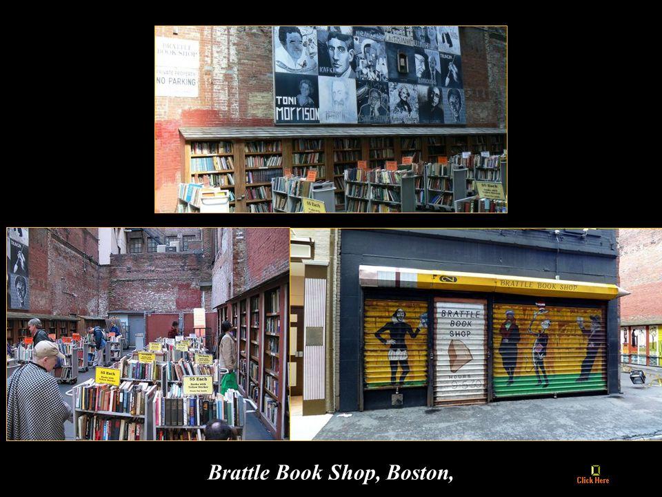 Brattle Book Shop, Boston,