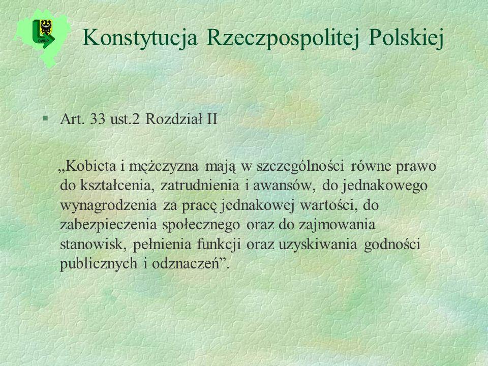 Konstytucja Rzeczpospolitej Polskiej §Art.