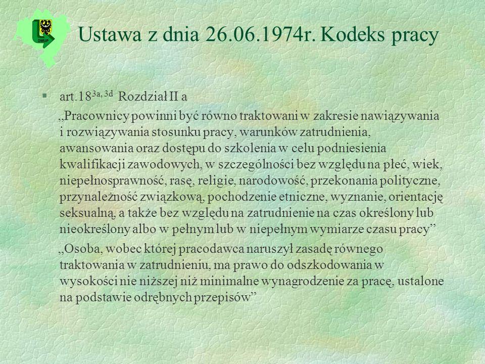 Ustawa z dnia 26.06.1974r.