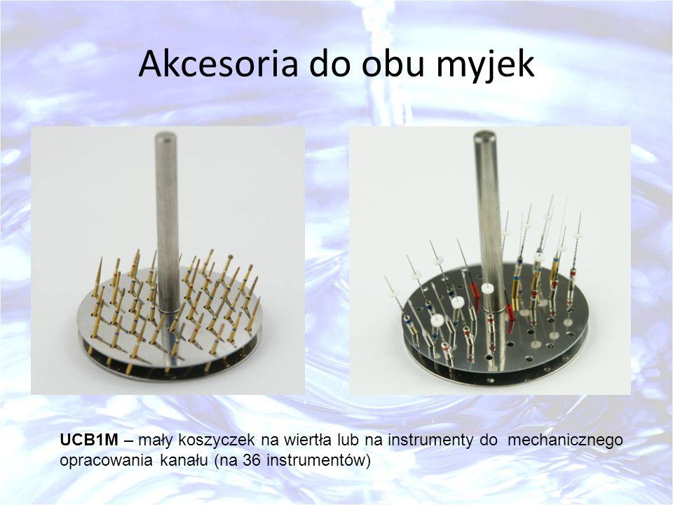 Akcesoria do obu myjek UCB1M – mały koszyczek na wiertła lub na instrumenty do mechanicznego opracowania kanału (na 36 instrumentów)
