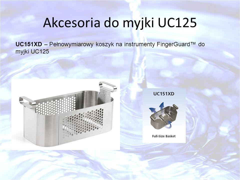 Akcesoria do myjki UC125 UC151XD – Pełnowymiarowy koszyk na instrumenty FingerGuard do myjki UC125