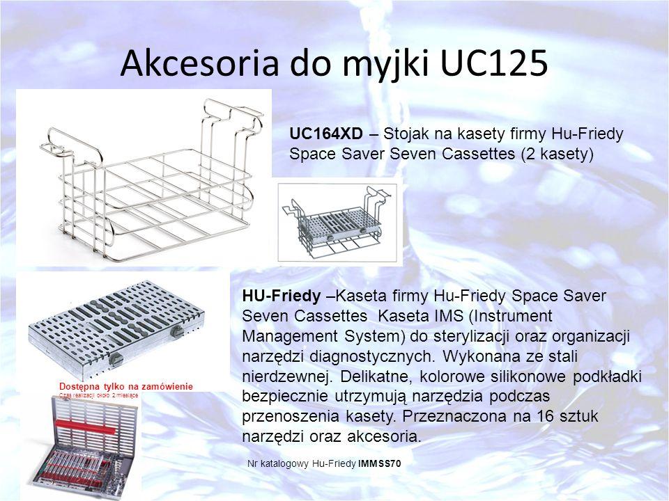 Akcesoria do myjki UC125 UC164XD – Stojak na kasety firmy Hu-Friedy Space Saver Seven Cassettes (2 kasety) HU-Friedy –Kaseta firmy Hu-Friedy Space Sav