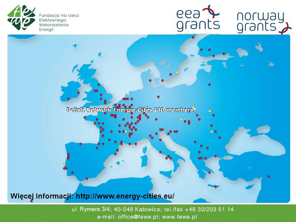 W ramach realizacji projektu Doskonalenie poziomu edukacji w samorządach terytorialnych w zakresie zrównoważonego gospodarowania energią i ochrony klimatu Ziemi, dzięki wsparciu udzielonemu przez Islandię, Liechtenstein i Norwegię ze środków Mechanizmu Finansowego Europejskiego Obszaru Gospodarczego oraz Norweskiego Mechanizmu Finansowego, serwis edukacyjny stworzony dla miasta Częstochowy został zweryfikowany i zmodyfikowany tak aby mógł pełnić rolę serwisu informacyjno- edukacyjnego dla różnych grup miast i gmin, w tym: dużych miast powyżej 200 tys.