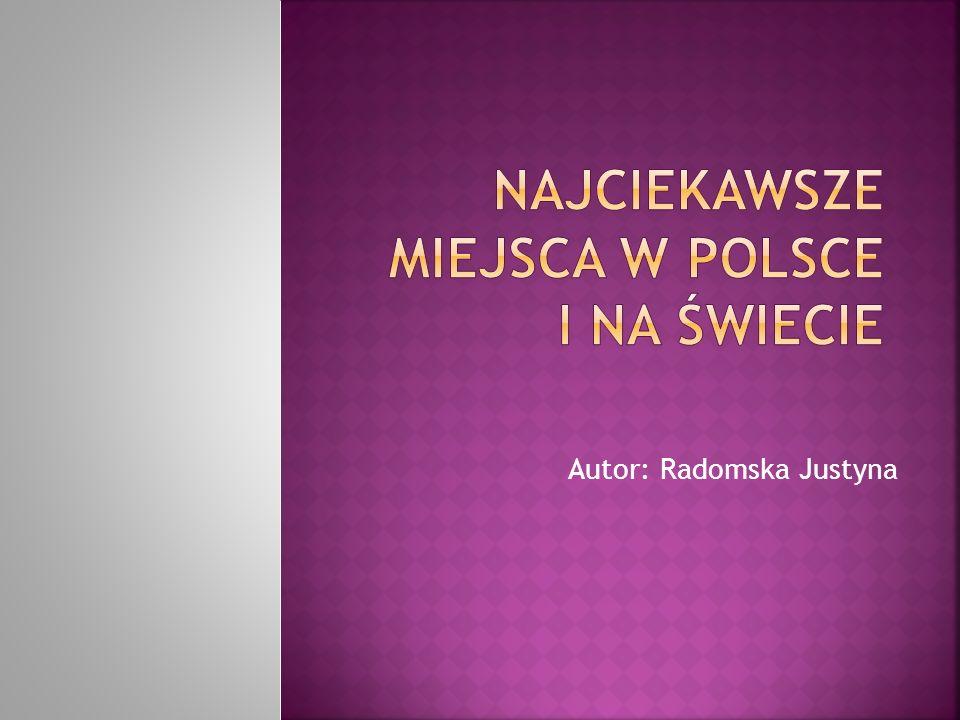 Autor: Radomska Justyna