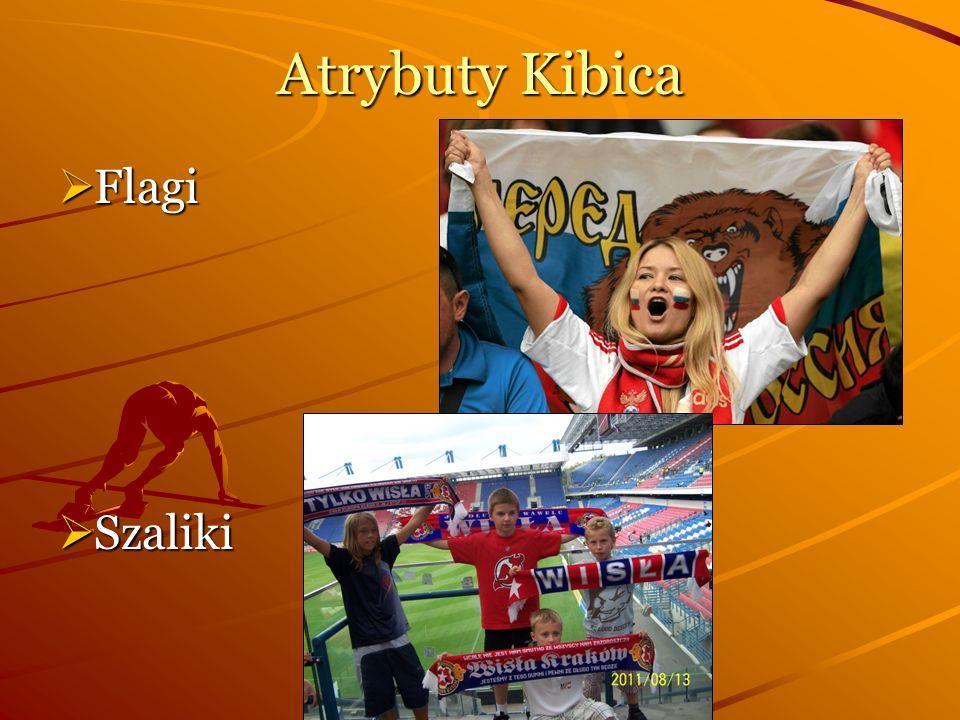 Atrybuty Kibica Flagi Flagi Szaliki Szaliki
