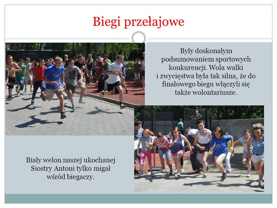 Biegi przełajowe Były doskonałym podsumowaniem sportowych konkurencji.