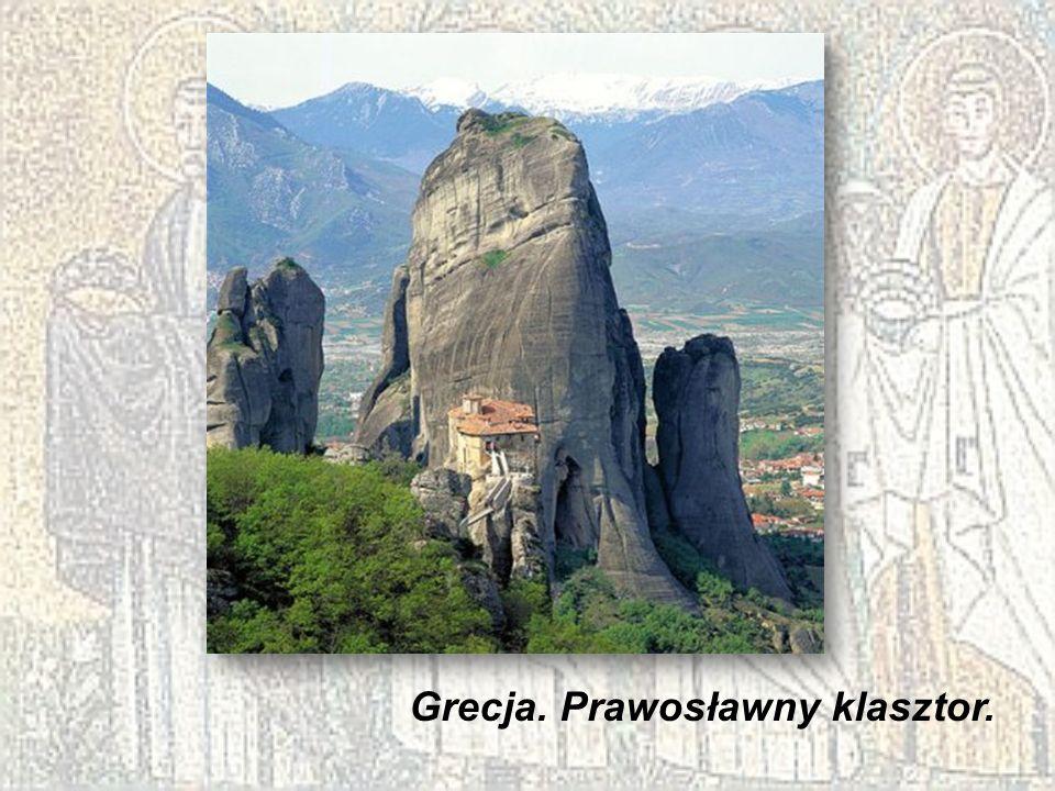 Grecja. Prawosławny klasztor.