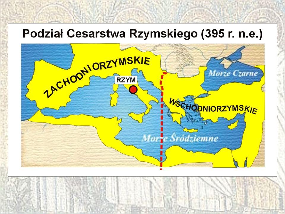 Pamiętaj! Inna nazwa Konstantynopola to BIZANCJUM.
