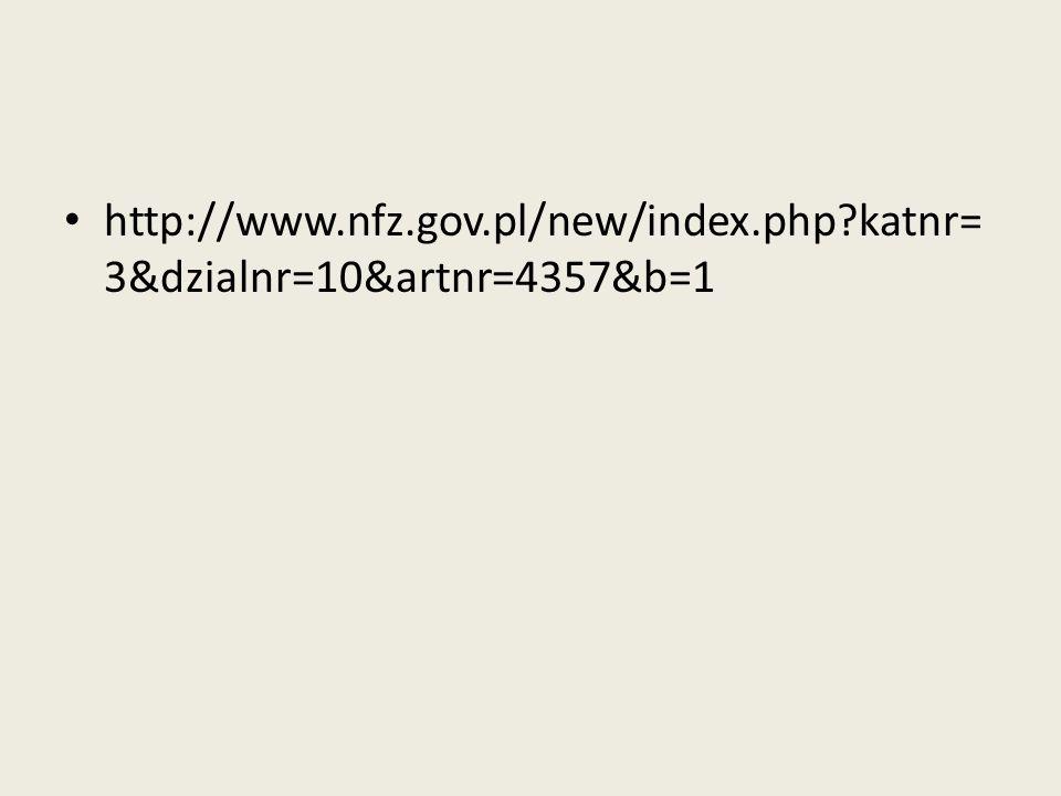 http://www.nfz.gov.pl/new/index.php?katnr= 3&dzialnr=10&artnr=4357&b=1