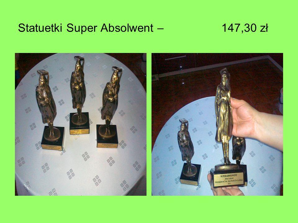 Statuetki Super Absolwent – 147,30 zł