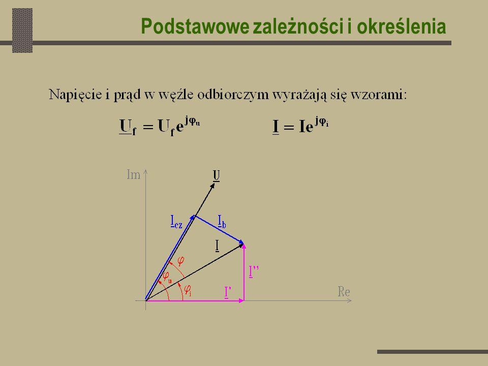 Spadek napięcia w linii rozdzielczej Spadek napięcia w całej linii równa się sumie spadków napięcia na poszczególnych jej odcinkach: Metoda sumowania odcinkami