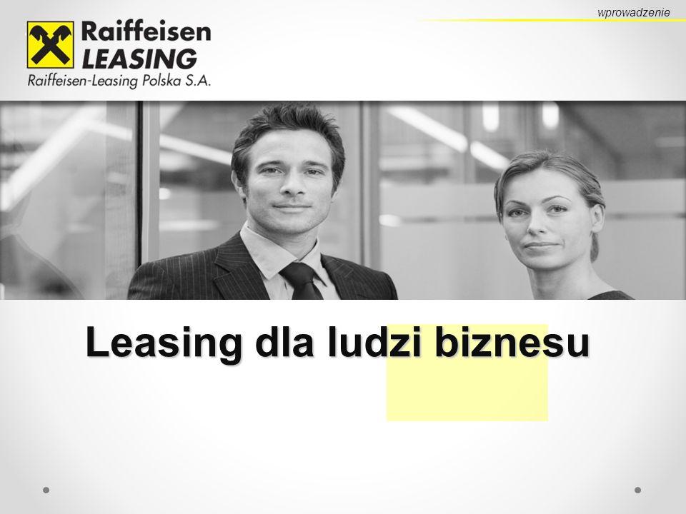 Leasing dla ludzi biznesu wprowadzenie