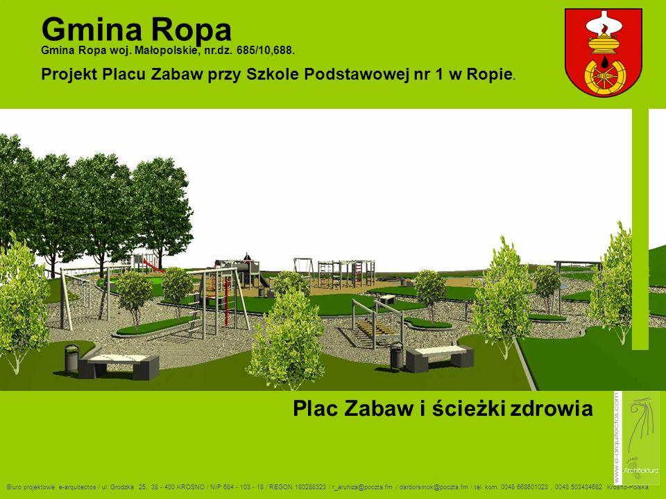 Gmina Ropa Gmina Ropa woj.Małopolskie, nr.dz. 685/10,688.