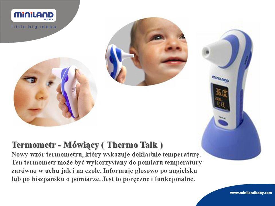 Termometr - Mówiący ( Thermo Talk ) Nowy wzór termometru, który wskazuje dokładnie temperaturę. Ten termometr może być wykorzystany do pomiaru tempera