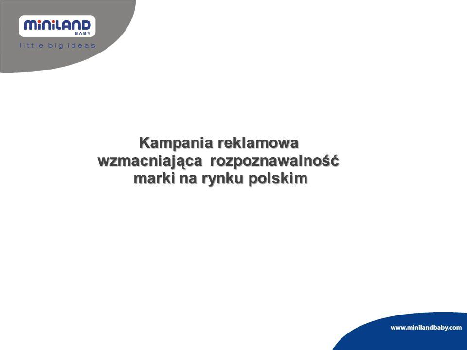 Kampania reklamowa wzmacniająca rozpoznawalność marki na rynku polskim
