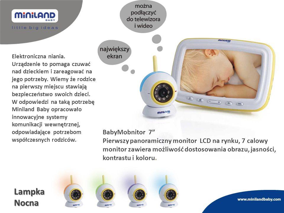 Elektroniczna niania. Urządzenie to pomaga czuwać nad dzieckiem i zareagować na jego potrzeby. Wiemy że rodzice na pierwszy miejscu stawiają bezpiecze