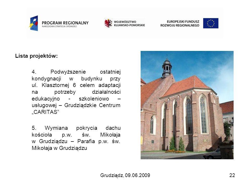 Lista projektów: 4. Podwyższenie ostatniej kondygnacji w budynku przy ul. Klasztornej 6 celem adaptacji na potrzeby działalności edukacyjno - szkoleni