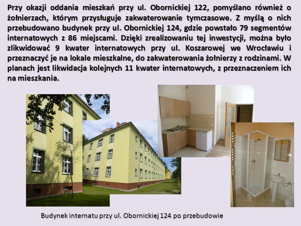 Przy okazji oddania mieszkań przy ul.